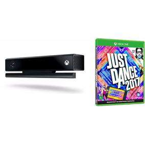 Sensor Kinect P X Box One C Jogo Just Dance 2017 Envio Imedi