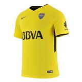 Camiseta Boca Juniors Original Suplente Amarilla 2018