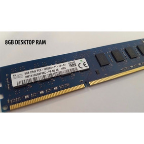 Memoria Ram Ddr3 8gb Hynix Oem Para Desktop Pc Oferta