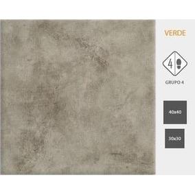 Ceramica Cortines 40x40 Ciment Verde 1°