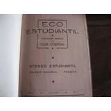 Colegio Nacional Posadasmisiones Revista Estudiantil 1947