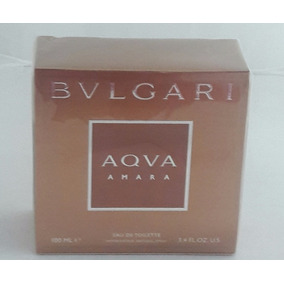 Perfume Aqva Amara Eau De Toilette 100 Ml Masculino Bvlgari