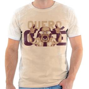Camiseta Camisa Personalizada Meme Quero Café 1