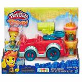 Play Doh Town Kit Carro Caminhão De Bombeiros - Hasbro