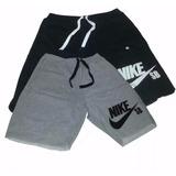 Bermuda Moleton Nike Masculina Short Nike Academia Fitnss