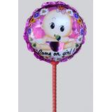 Kit 20 Unid.balão Metaliz. Enfeite Mesa Chá De Bebê 21cm