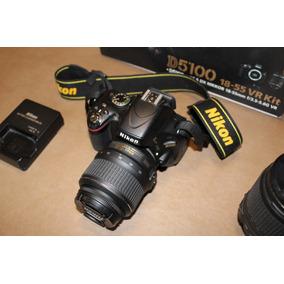 Nikon D5100/lentes 18-55/18-105/ Flash Y Equipo De Regalo!