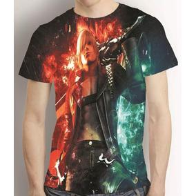 Camisa Game Devil My Cray Camiseta Dante - Estampa Total
