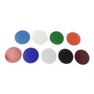 5 Palhetas Acrílicas Coloridas - Futebol De Mesa / Botão