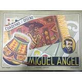 Cuaderno De Dibujo / Seda Miguel Angel - Antiguo - San Telmo