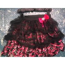 Monster High Falda Para Niña 13 Deseos Barbie