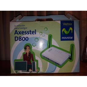 Modem Inalámbrico Axesstel D800 Cdma 2000 1xev-do 2 Antenas