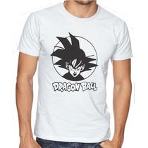 Camiseta Anime Dragon Ball Desenho Personalizada Goku Camisa