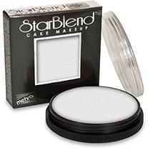 Disfraz Mehron Starblend Pastel De Maquillaje - Blanco W (2