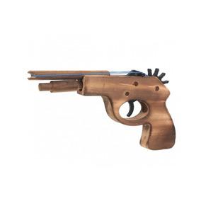 Pistola De Madera Lanza Ligas (juguete)