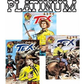 Revista Tex Platinum Mythos Editora Comics - Avulso Escolha