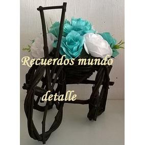 Centro De Mesa Vintage Nuevo Oferta Barato Boda Xv Baby