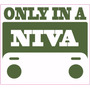 Compre 1 Leve 5 Adesivo Off Road 4x4 Only In A Niva Lada