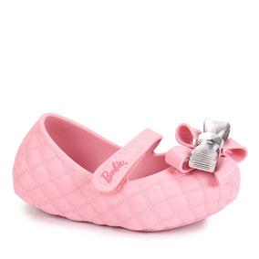 Sapatilha Infantil Grendene Barbie - 17 Ao 22 - Rosa