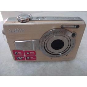Camera Digital Sanyo 7.1 Mega Pixel(p/ Retirada De Peças)