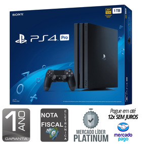 Playstation 4 Pro 1tb 4k - Nota Fiscal