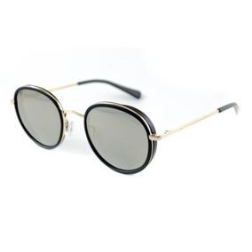 Oculos Sol Atitude At5293 A02 Preto Lente Dourada Espelhada 83fad27511