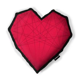 Cojín Corazón Blood Rojo - Artefracto
