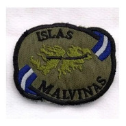 Escudo Bordado Islas Malvinas