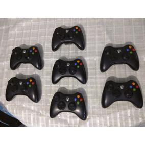 Lote Control Inalambrico Xbox Original Negro, Boton Cromado
