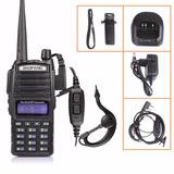 Radio Baofeng Uv-82 Ht Dual Band Bateria 2800mah 8w Fone