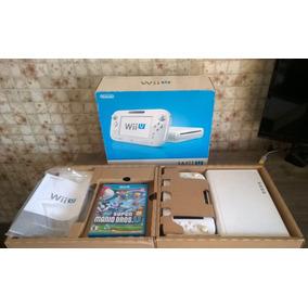 Nintendo Wii U Branco Completo + New Mario Bros U Original