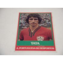 Tata - Ping Pong Futebol Cards - Nº 76 - Portuguesa