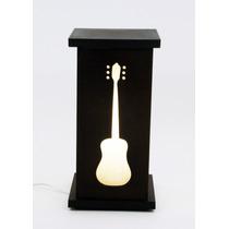 Frete Grátis - Luminária Violão Música Instrumento Musical