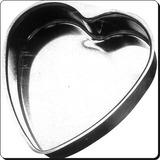 Molde Torta Corazón Embutido Hojalata Tortera N.º 3 31x28x5