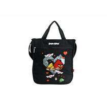 Bolsa Tote Bag - Angry Birds - Preta