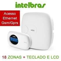 Central De Alarme Intelbras Amt2018 Eg Gsm/gprs Amt2018eg