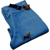 Calça Jeans Pierre Cardin Revendedor Autorizado T:40 A 52