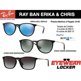 Gafas Ray Ban Chris, Erika 100% Originales