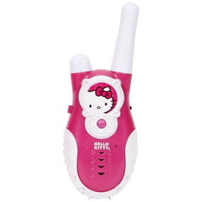 Hello Kitty Push To Talk Walkie Talkiespink (13009)