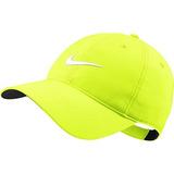 Nuevo Nike Legacy91 Tech Adjustable Volt / Blanco Sombrero