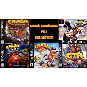 Saga De Crash Ps1 (5 Juegos)