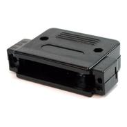 Capa Plástica Para Conector Db50 - Preta
