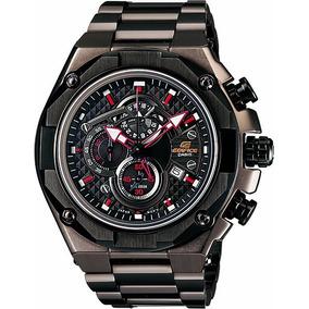 Relógio Casio Edifice Cronógrafo Efe-503d-1avdf Vidro Safira