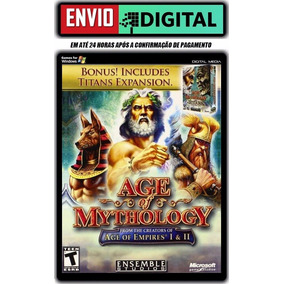 Age Of Mythology + The Titans - Em Português - Envio Digital