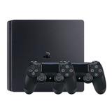 Consola Sony Playstation 4 Ps4 Slim 1tb + 2 Joystick