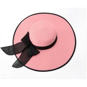 Sombreros De Playa Mujer Fibras Naturales Varios Colores