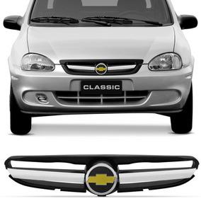 Grade Dianteira Corsa Classic 2003 A 2009 Emblema Chevrolet