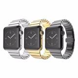Correas Extensible Iwatch Apple Metal Link, 38/42mm