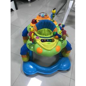 Andador Caminador Bebés Premium Combilux Asiento 360 Luz