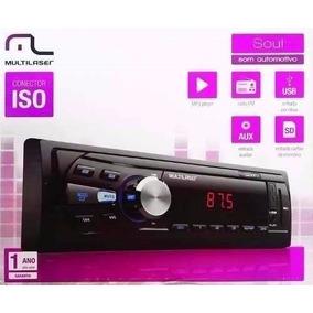 Auto Rádio Automotivo Multilaser Soul - Mp3 Usb Sd Card